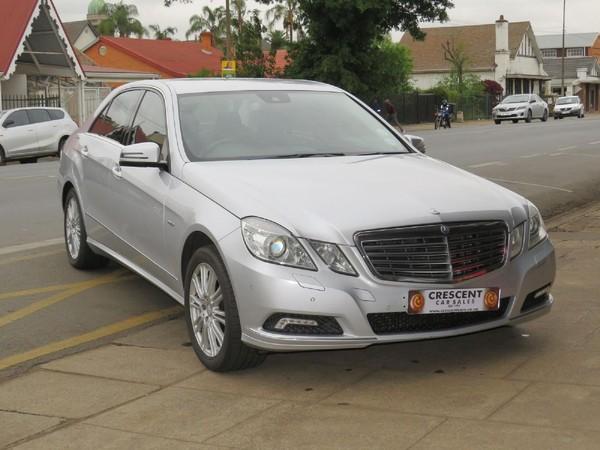 2010 Mercedes-Benz E-Class E 200 Cgi Be Avantgarde  Kwazulu Natal Pietermaritzburg_0