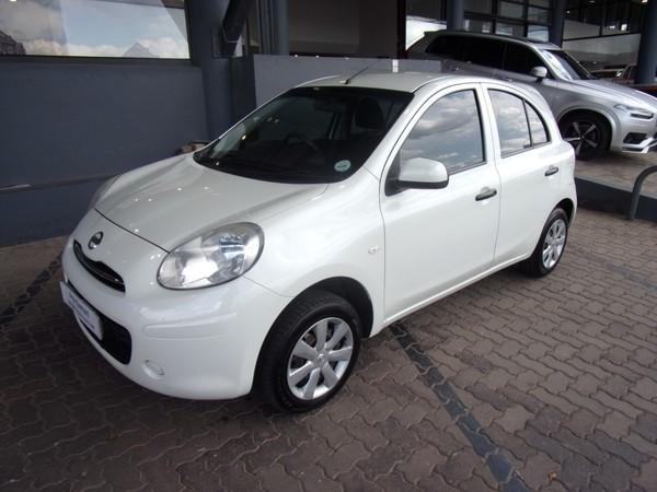 2012 Nissan Micra 1.2 Acenta 5dr d83  Gauteng Johannesburg_0