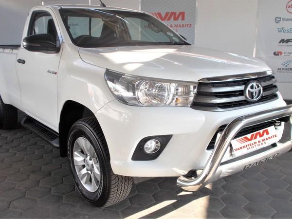 2018 Toyota Hilux 2.4 GD-6 SR Single Cab Bakkie Gauteng Pretoria North_0