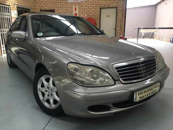2003 Mercedes-Benz S-Class S 320cdi v6 automatic with soft close doors Free State Villiers_0
