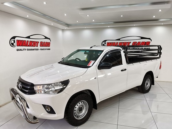 2018 Toyota Hilux 2.4 GD AC Single Cab Bakkie Kwazulu Natal Newcastle_0