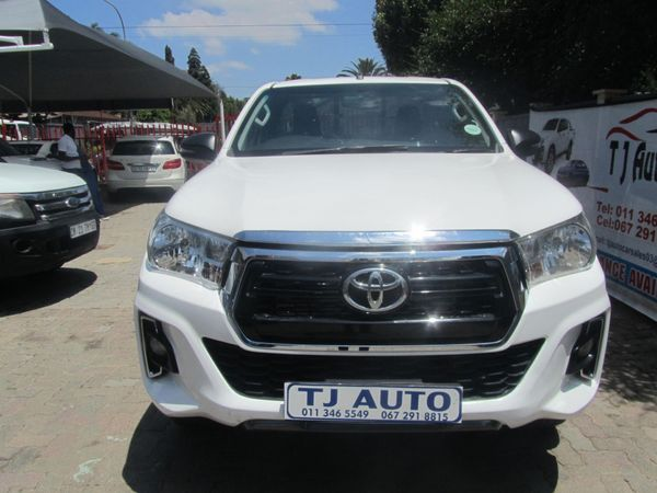 2018 Toyota Hilux 2.4 GD-6 RB SRX Single Cab Bakkie Gauteng Bramley_0