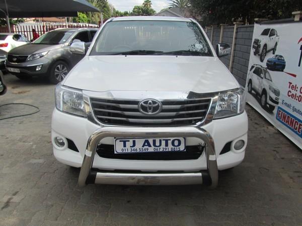 2011 Toyota Hilux 2.5 D-4d Pu Sc  Gauteng Bramley_0