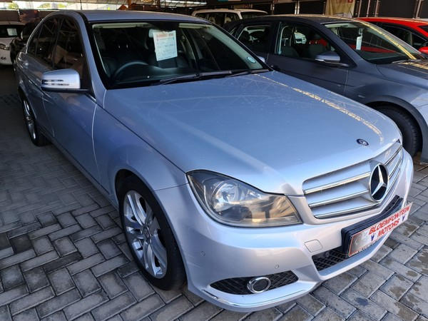 2012 Mercedes-Benz C-Class C180 Be Avantgarde At  Free State Bloemfontein_0