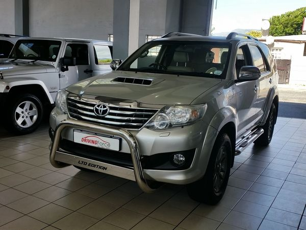 2013 Toyota Fortuner 3.0d-4d Rb At  Western Cape Wynberg_0