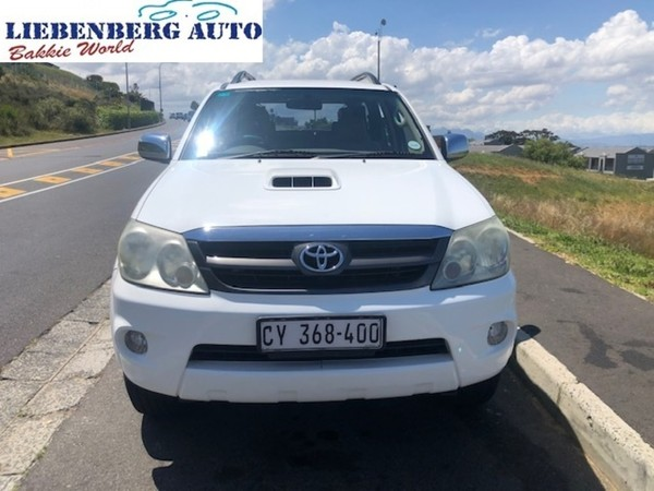 2006 Toyota Fortuner 3.0d-4d Raised Body  Western Cape Cape Town_0