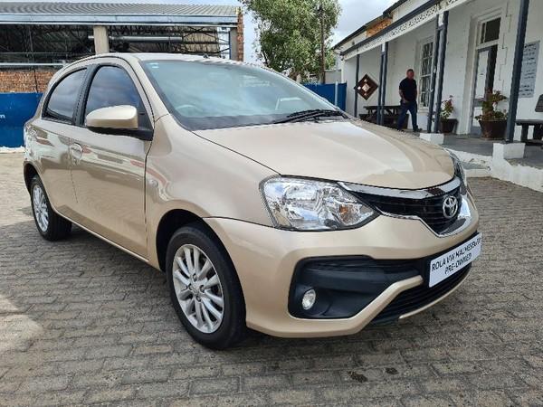 2017 Toyota Etios 1.5 Xs 5dr  Western Cape Malmesbury_0