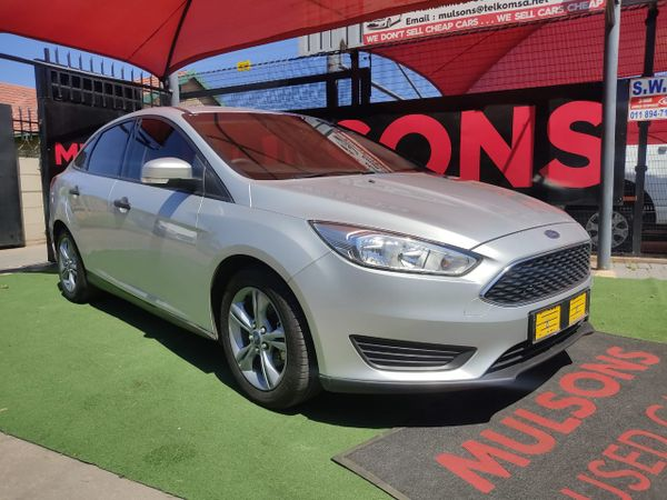2017 Ford Focus 1.0 Ecoboost Ambiente Gauteng Boksburg_0
