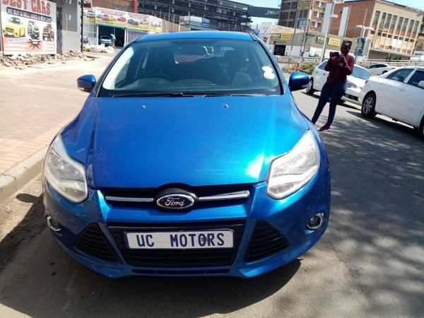 2014 Ford Focus 1.6 Ti Vct Trend 5dr  Gauteng Germiston_0