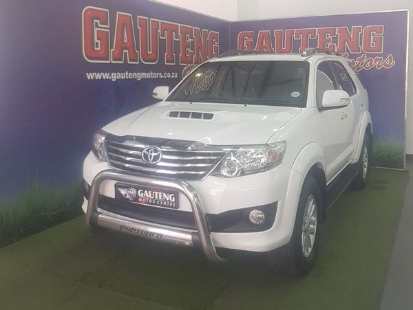 2013 Toyota Fortuner 2.5d-4d Rb At  Gauteng Pretoria_0