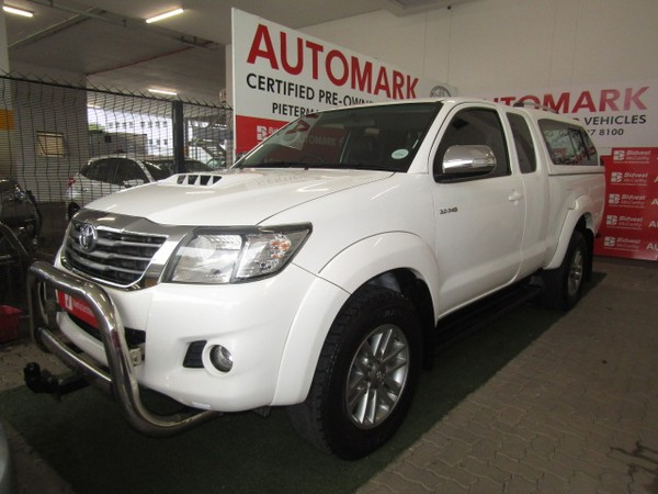 2015 Toyota Hilux 3.0D-4D LEGEND 45 4X4 XTRA CAB PU Kwazulu Natal Pietermaritzburg_0