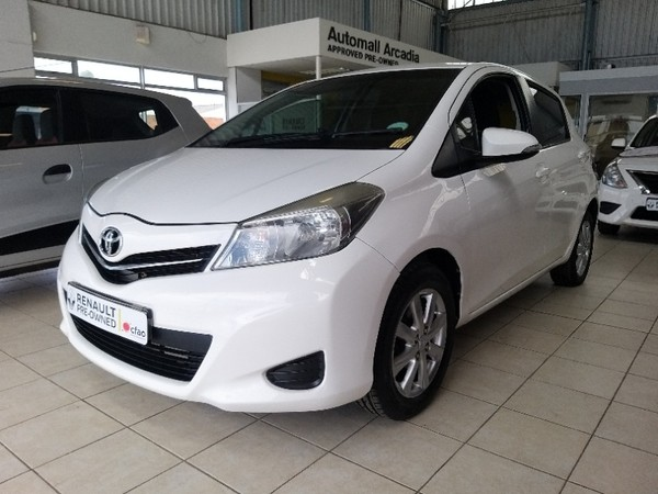 2012 Toyota Yaris 1.3 Xs 5dr  Eastern Cape East London_0