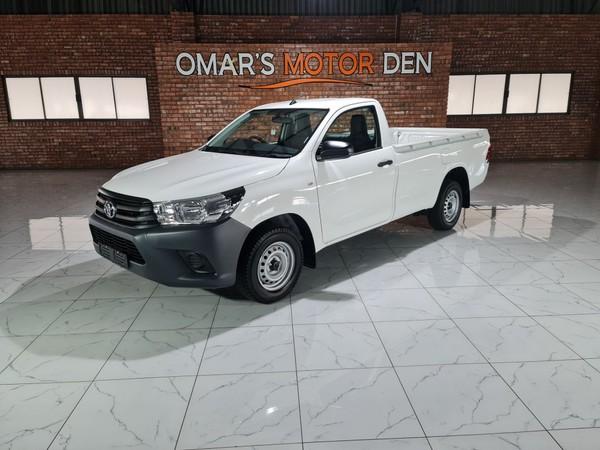 2020 Toyota Hilux 2.0 VVTi AC Single Cab Bakkie Mpumalanga Witbank_0