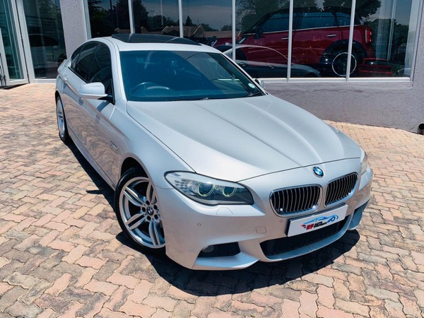 2013 BMW 5 Series 520d At M Sport f10  Gauteng Sandton_0