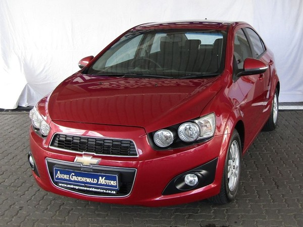 2013 Chevrolet Sonic 1.6 Ls At  Western Cape Goodwood_0