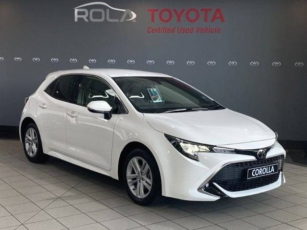 2020 Toyota Corolla 1.2T XR CVT 5-Door Western Cape Somerset West_0