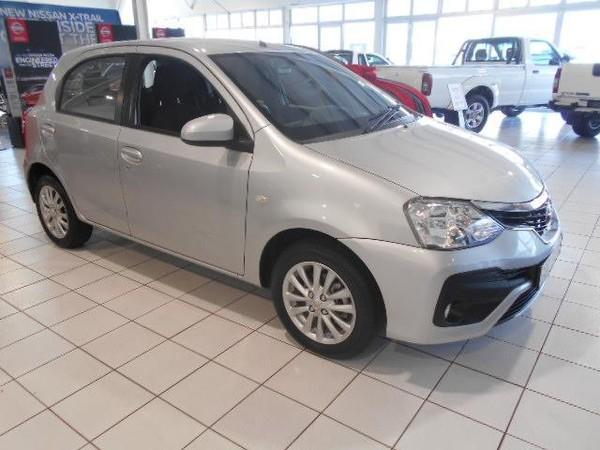 2018 Toyota Etios 1.5 Xs 5dr  Western Cape Cape Town_0