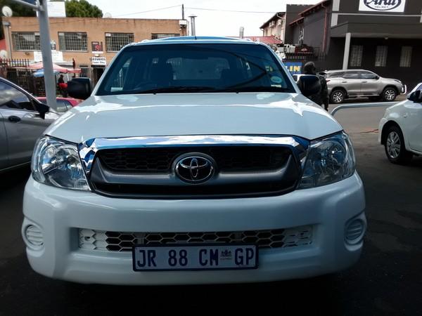 2010 Toyota Hilux 2.7 Vvti Raider Rb Pu Sc  Gauteng Johannesburg_0