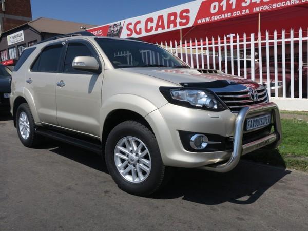 2012 Toyota Fortuner 3.0d-4d 4x4 At  Gauteng Bramley_0