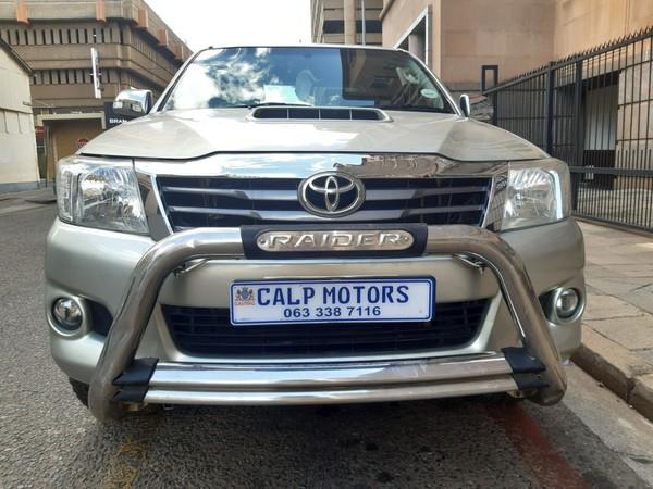 2014 Toyota Hilux 3.0 D-4d Raider Rb Pu Dc  Gauteng Marshalltown_0