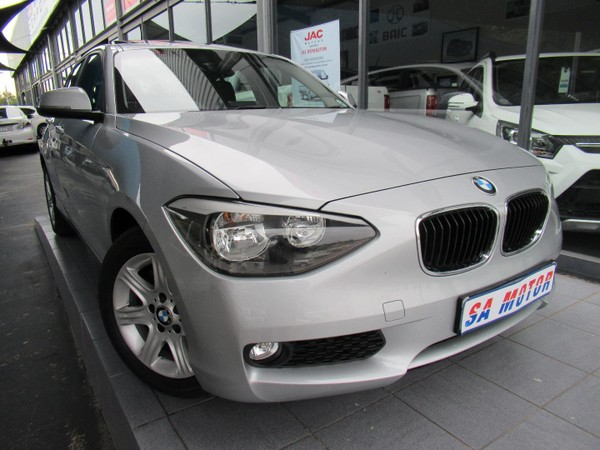 2013 BMW 1 Series 118i Sport Line 5dr f20  Gauteng Randburg_0