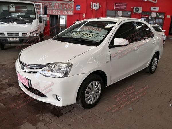 2013 Toyota Etios 1.5 Xs  Western Cape Goodwood_0