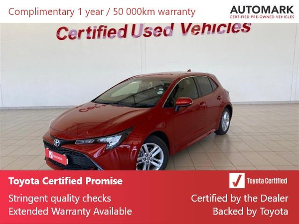 2019 Toyota Corolla 1.2T XS CVT 5-Door North West Province Klerksdorp_0