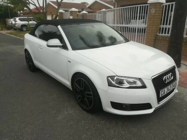 2010 Audi A3 1.8t Fsi Cabriolet At  Western Cape Paarl_0