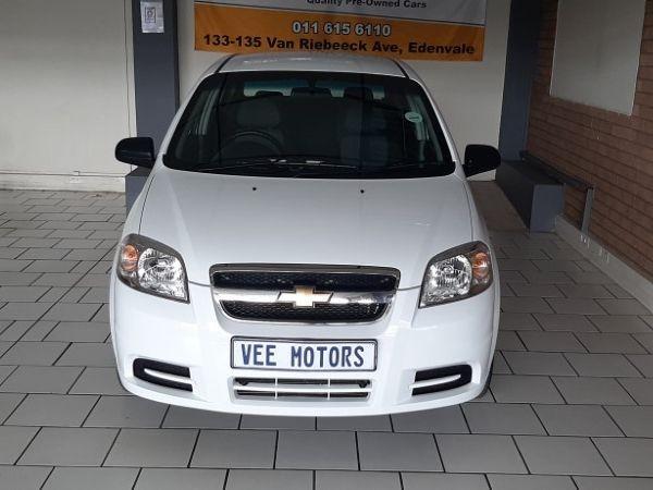2015 Chevrolet Aveo 1.6 L  Gauteng Edenvale_0