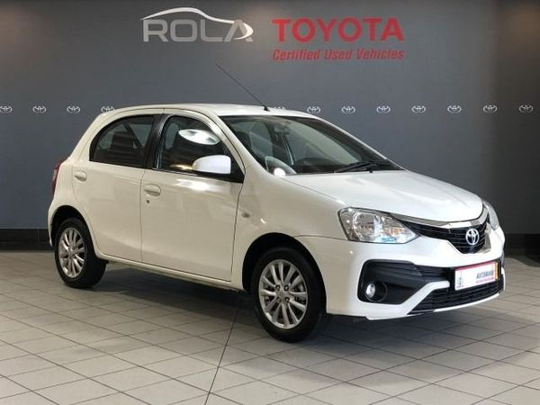 2020 Toyota Etios 1.5 Xs 5dr  Western Cape Somerset West_0