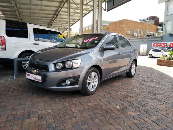 2013 Chevrolet Sonic 1.4 Ls  Gauteng Vereeniging_0