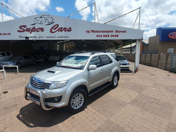 2014 Toyota Fortuner 3.0d-4d Rb At  Mpumalanga Witbank_0