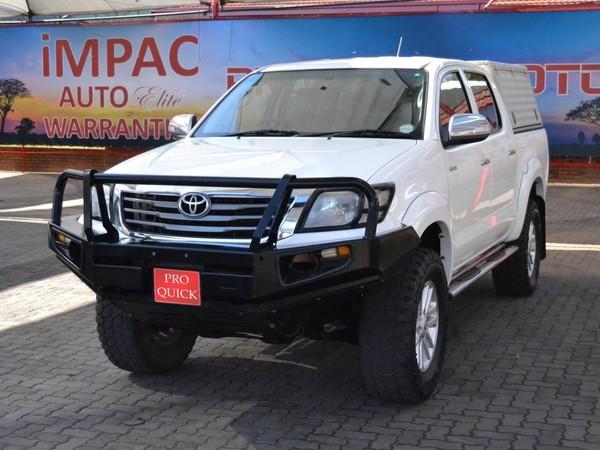 2012 Toyota Hilux 4.0 V6 Raider 4x4 At Pu Dc  Gauteng Pretoria_0