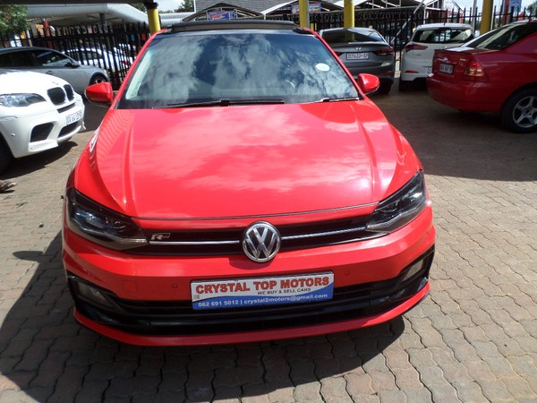 2018 Volkswagen Polo GP 1.0 TSI R-LINE DSG Gauteng Kempton Park_0
