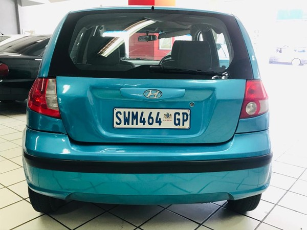 2004 Hyundai Getz 1.4  Gauteng Springs_0