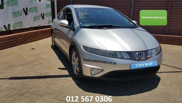 2007 Honda Civic 1.8i-vtec Exi 5dr  Gauteng Pretoria_0
