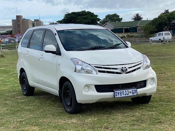 2015 Toyota Avanza 1.3 S Fc Pv  Eastern Cape Port Elizabeth_0