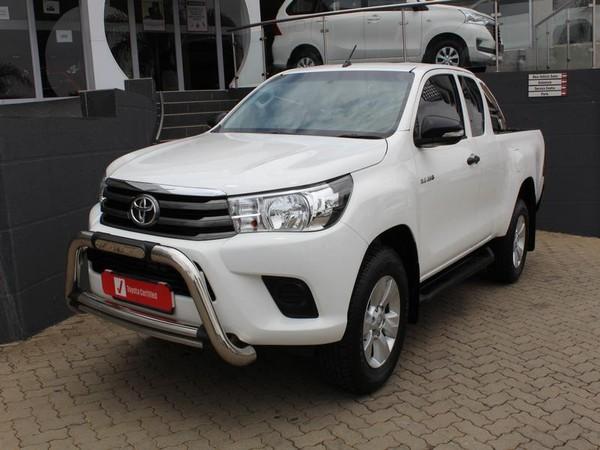 2017 Toyota Hilux 2.4 GD-6 RB SRX Extended Cab Bakkie Gauteng Johannesburg_0