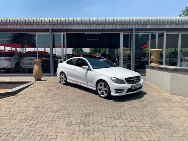 2014 Mercedes-Benz C-Class C180 Be Coupe At  Mpumalanga Delmas_0