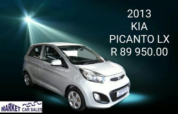 2013 Kia Picanto 1.0 Lx  Gauteng Johannesburg_0
