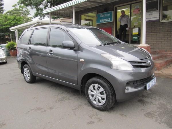 2012 Toyota Avanza 1.5 Sx At  Kwazulu Natal Pinetown_0