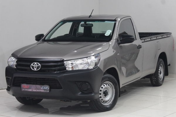2019 Toyota Hilux 2.4 GD Single Cab Bakkie Gauteng Nigel_0