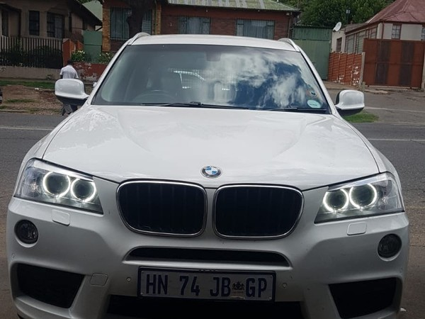 2013 BMW X3 Xdrive20d Exclusive At  Gauteng Johannesburg_0