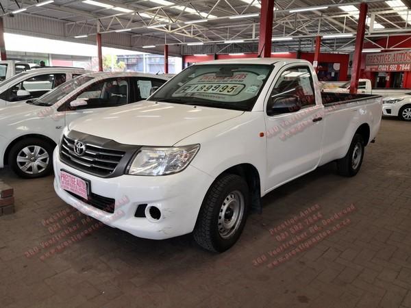 2016 Toyota Hilux 2.0 VVT Single Cab Bakkie Western Cape Goodwood_0