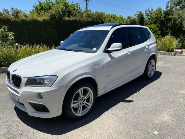 2013 BMW X3 Xdrive20d  M-sport At  Western Cape Paarl_0