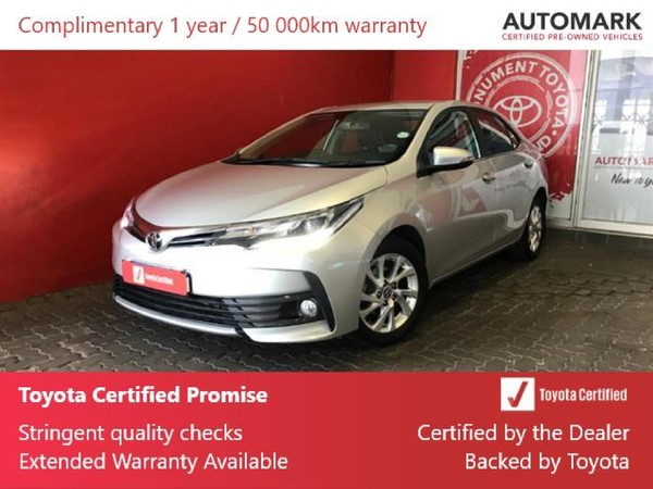2018 Toyota Corolla 1.8 Exclusive Gauteng Roodepoort_0