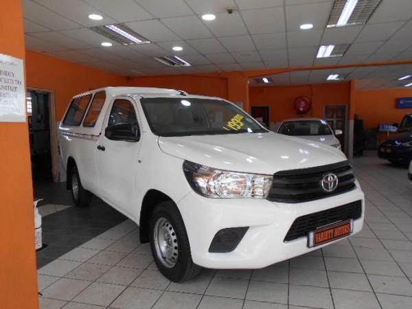 2016 Toyota Hilux 2.4 GD AC Single Cab Bakkie Kwazulu Natal Durban_0