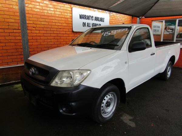 2010 Toyota Hilux 2.5 D-4d Pu Sc  Kwazulu Natal Durban_0