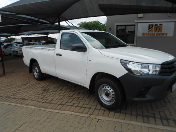 2018 Toyota Hilux 2.4 GD AC Single Cab Bakkie Gauteng Pretoria_0