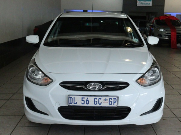 2015 Hyundai Accent 1.6 Gl  North West Province Potchefstroom_0